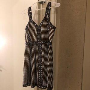 BGBG Black and White Cocktail Dress
